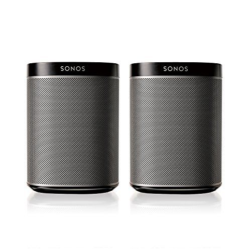 Sale at Komplete Kollection SONOS PLAY:1 2-Room Streaming Music Starter Set Bundle (Black)
