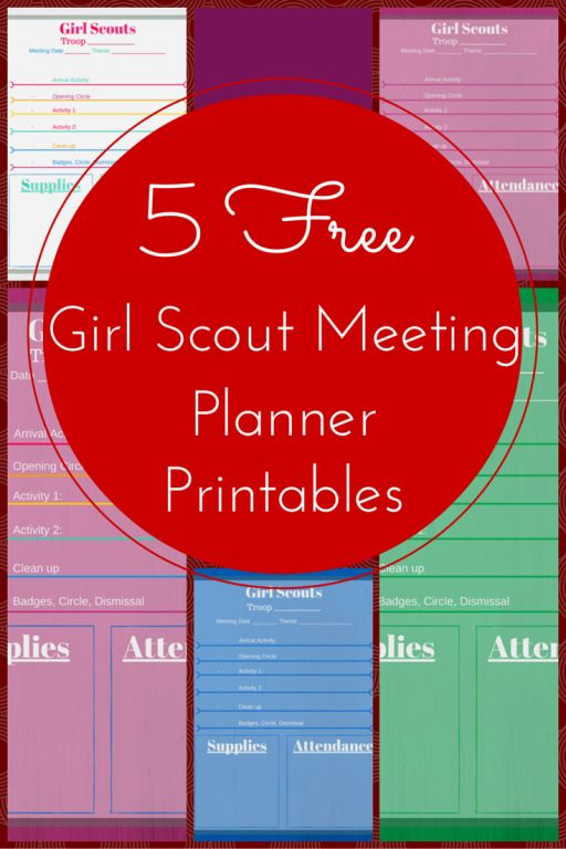 194 best images about Girl Scouts Printables on