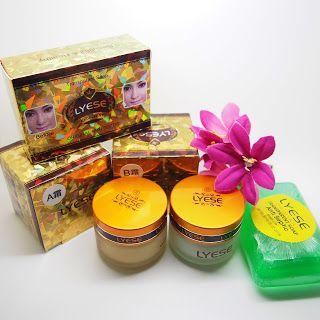 Paket Cream Lyese Lengkap / Cream Lyese Dan Sabun Lyese