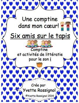 Les enfants vont s'amuser avec ces activités de littératie à partir de la comptine amusante! Amusez-vous à manger du macaroni sur le tapis!