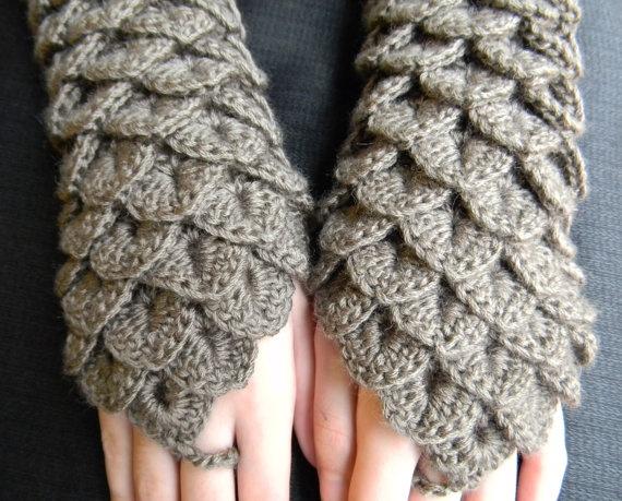 143 besten Crocodile stitch Bilder auf Pinterest | Handschuhe häkeln ...