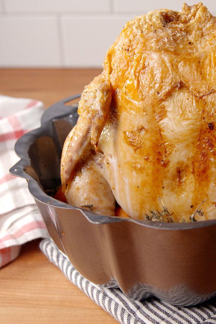 Bundt Pan Roast Chicken