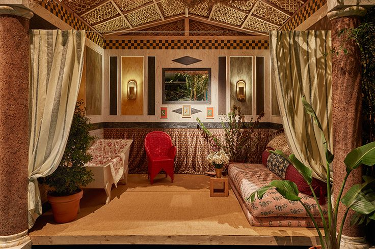 The America Bathroom by Carolina Irving: Corian Cabana Club, Milan Design Week 2017
