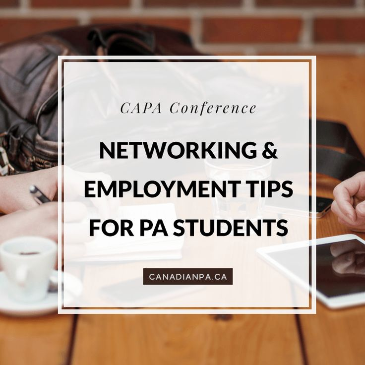 Networking and Employment Tips for Physician Assistant