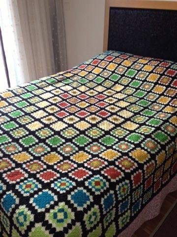 biricik ablama yeni evine hediye.. yatak örtüsü