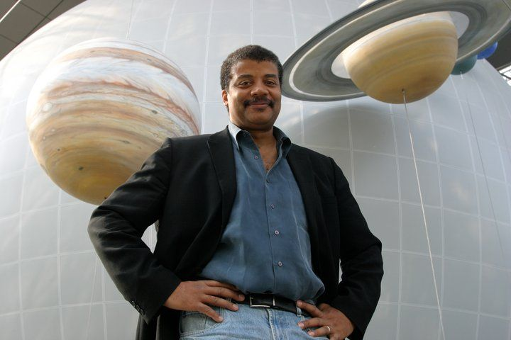 Meet Neil deGrasse Tyson--one of the most intelligent, wonderful people on the earth--or in the universe, for that matter. : )