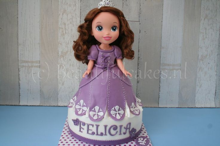 Prinses Sofia-taart voor Felicia.