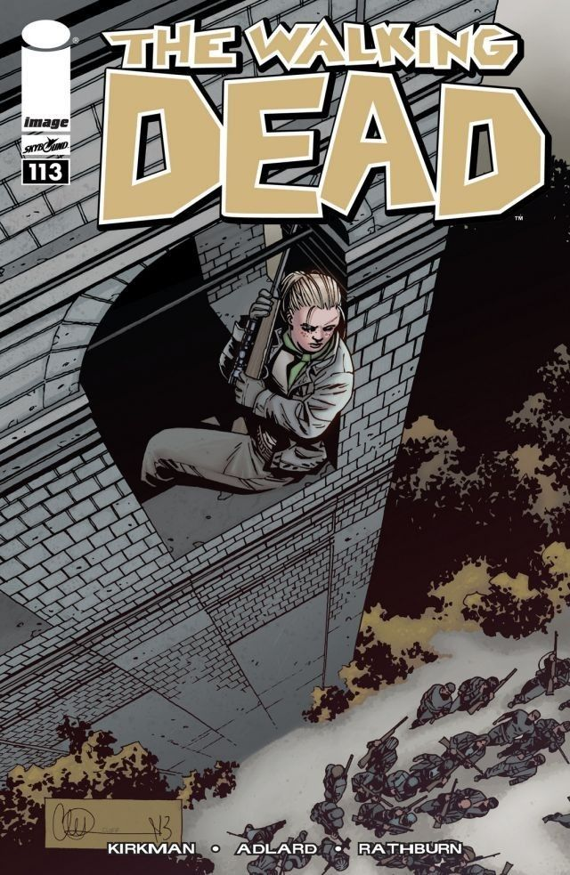 The Walking Dead #113 They march to certain doom.