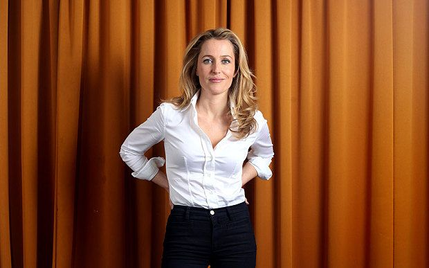 Gillian Anderson: It's time somebody was brave enough to ask me out - Telegraph