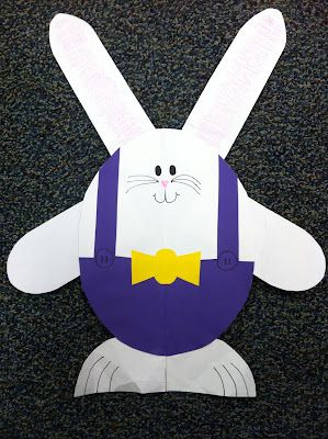 What an adorable Easter Bunny!  Come check it out!