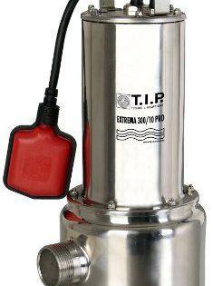 T.I.P. 30072 Pompe submersible pour eaux usées Extrema 300/10 PRO avec roue en acier inoxydable: En utilisation normale, cette pompe peut…