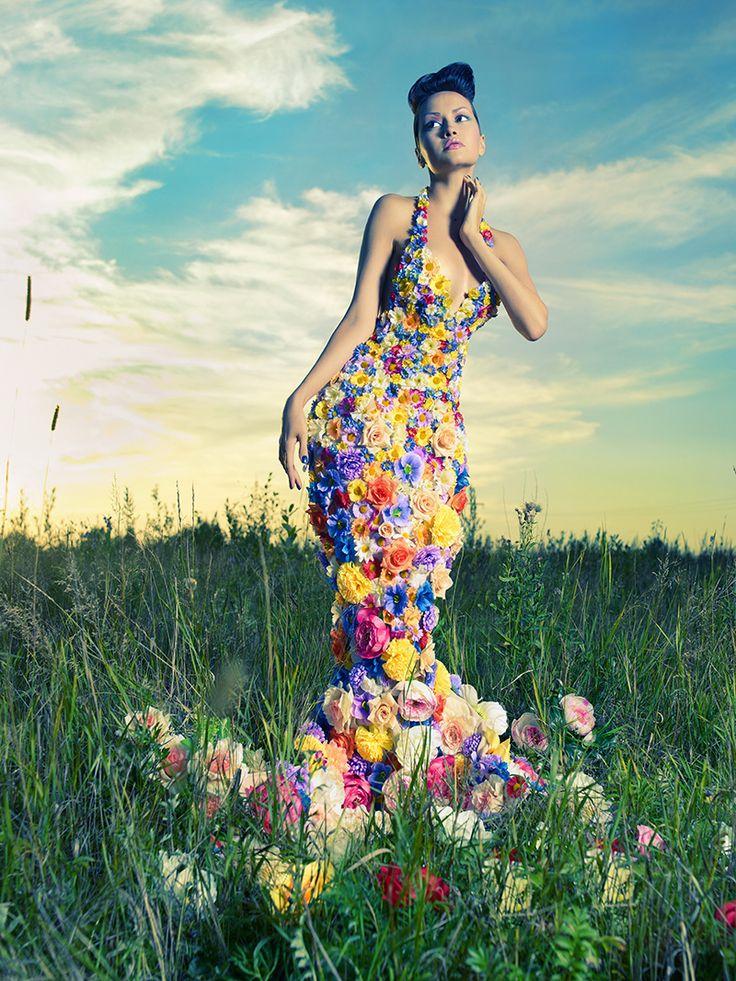 Flowery...