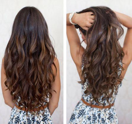 Το ιδανικό χτένισμα για τα μακριά μαλλιά είναι οι ανάλαφρες loose μπούκλες! Είναι όμορφες και προσφέρουν την αίσθηση του όγκου στα μαλλιά σας!