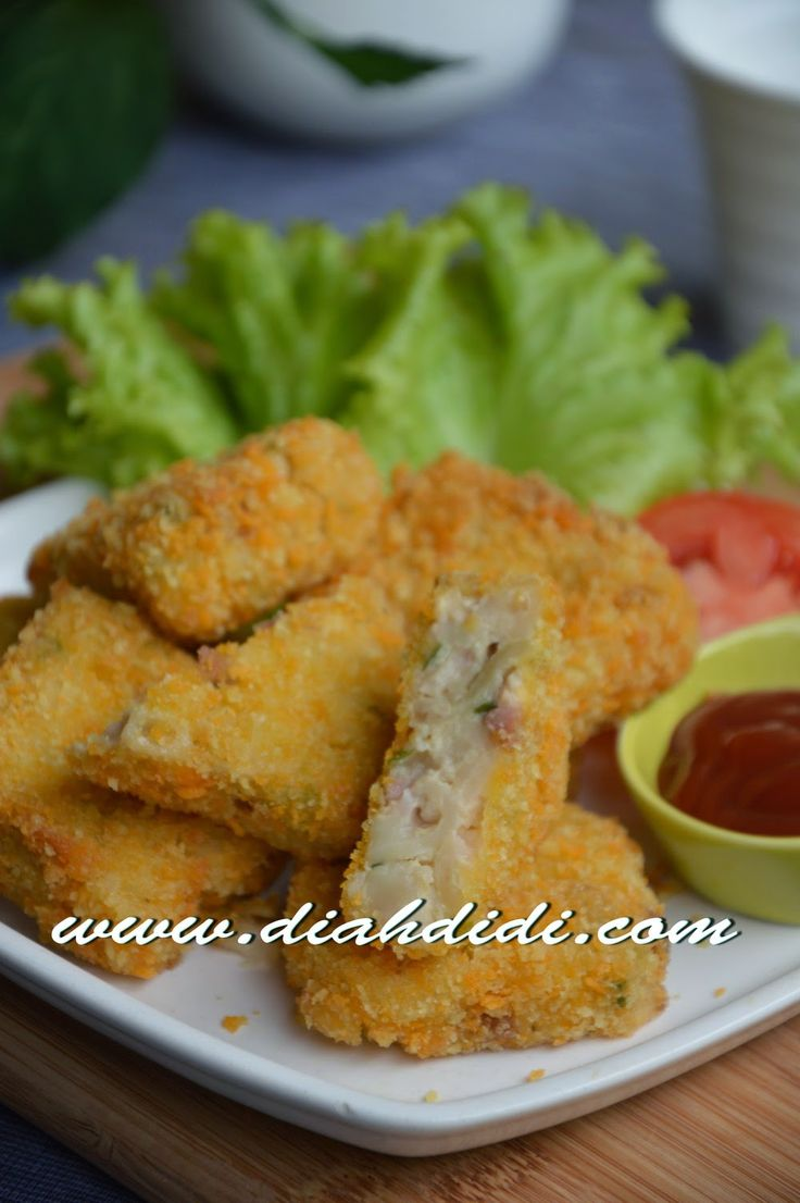 Diah Didi's Kitchen: Nugget Makaroni Sosis