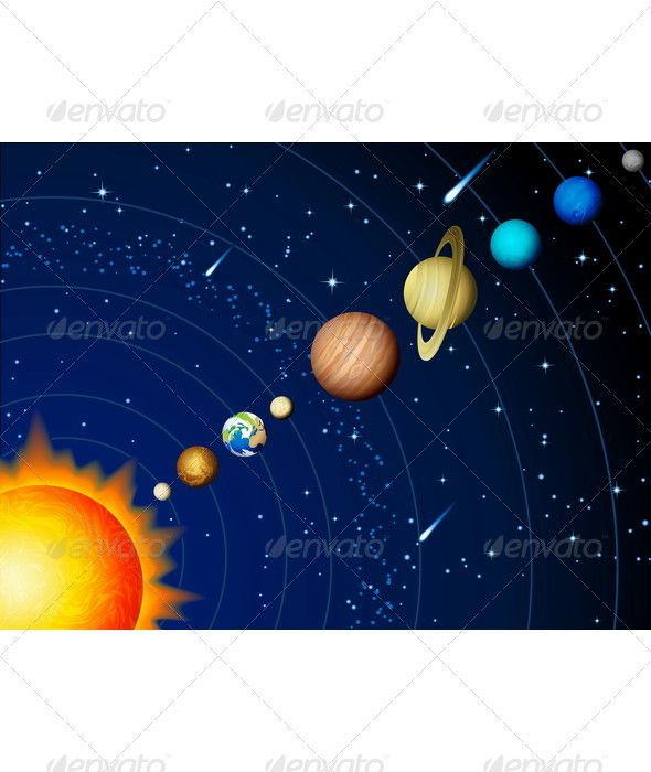 Solar System #GraphicRiver Vector illustration – Solar system background Created: 28September11 GraphicsFilesIncluded: VectorEPS #VectorEPS Layered: No MinimumAdobeCSVersion: CS Tags: asteroid #astronomy #background #comet #cosmos #dark #earth #galaxy #globe #illustration #jupiter #mars #mercury #meteor #moon #neptune #orbit #planet #pluto #saturn #science #solarsystem #space #star #sun #sunlight #surface #universe #uranus #venus