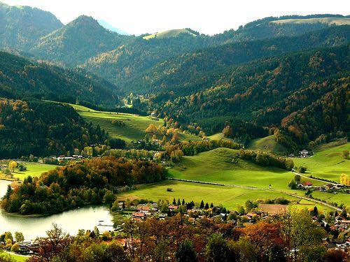 Summer Valley, Schliersee, Austria