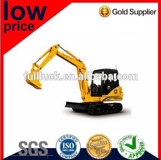 Low price excavator machine for sale FL6225 8ton mini new excavator
