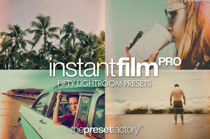 Instant Film PRO - Lightroom Presets