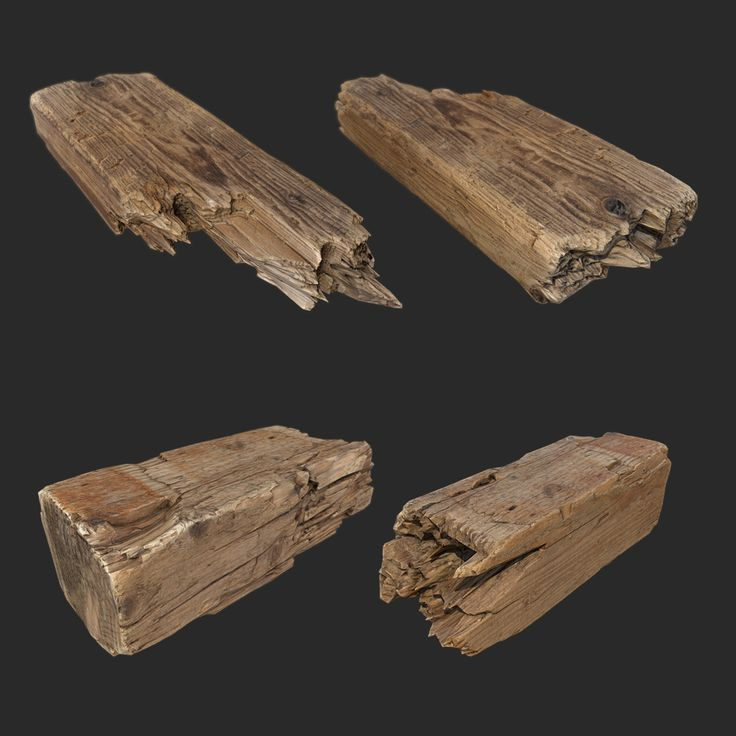 Wooden Debris, Sergey Gailiunas on ArtStation at https://www.artstation.com/artwork/wooden-debris