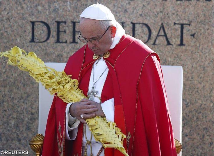 Pape François - Pope Francis - Papa Francesco - Papa Francisco : Dimanche des Rameaux 2016