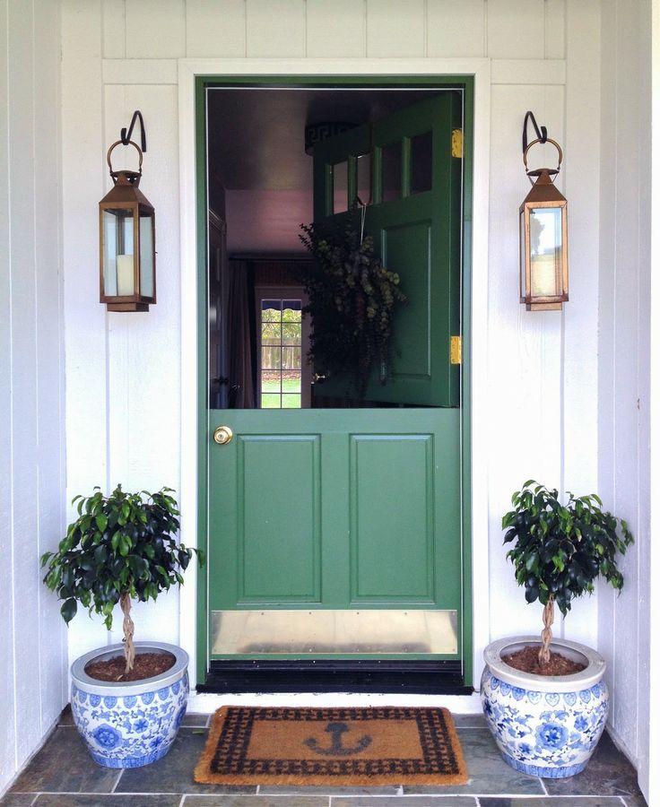Green Front Doors: 205 Best Exterior Images On Pinterest