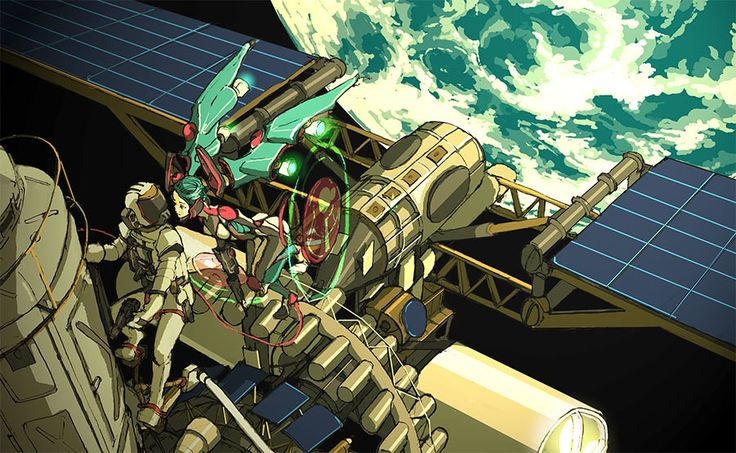 I am a spacecraft by *hira-geco on deviantART
