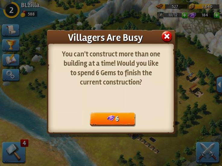 Siegefall | Tycoon Phase | Villagers Busy | UI HUD User Interface Game Art GUI iOS Apps Games | Gameloft | www.girlvsgui.com