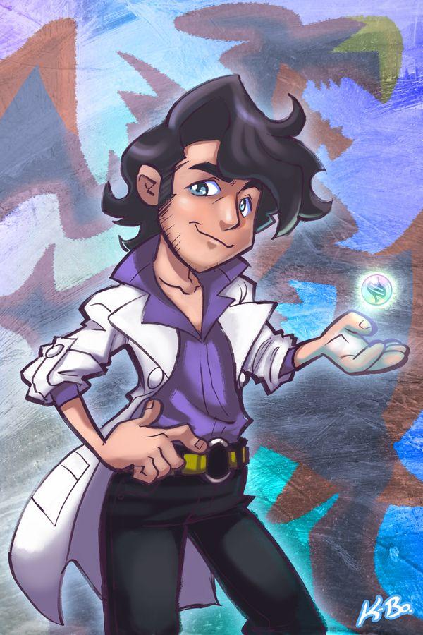 Professor Sycamore Pokemon X Y by kevinbolk.deviantart.com on @DeviantArt