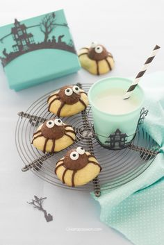 spider cookies biscotti_a_forma_ragno_ragnetti_halloween