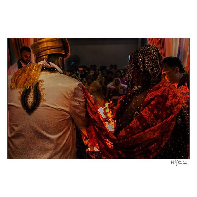 So much to take in during a Hindu Wedding Ceremony. So powerful, peaceful and different. #hindu #fireceremony  #weddings #manitoba #details #tips #ideas #inspiration #photos #photography #winnipeg #wedding #ceremony #reception #blfstudios