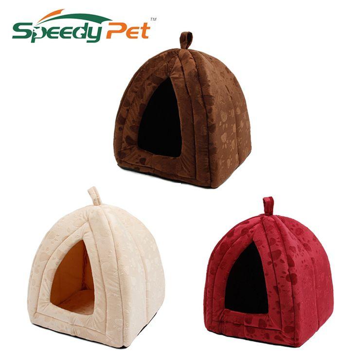 Nieuwe Aankomen Huisdier Kennel Super Zachte FabricDog Bed Prinses Huis Specificeren voor Puppy Hond Kat met Poot Cama Para Cachorro Hot!
