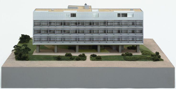 Model :  Swiss Pavilion, Cité Universitaire, Paris, France (1930-33) | Le Corbusier with Pierre Jeanneret | MoMA © 2017 Artists Rights Society (ARS), New York / ADAGP, Paris / FLC