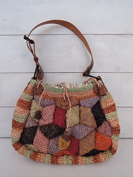 Crochet Fancy Bags : ... Crochet bags on Pinterest Purse patterns, Free pattern and Crocheted