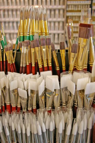 Oil Painting Lessons - Choose the Perfect Paint Brushes