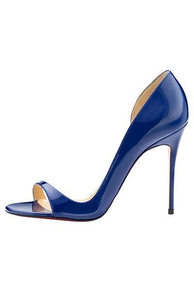 Christian Louboutin - Women's Shoes - 2014 Spring-Summer ... wow...what a stunning colour !!!!