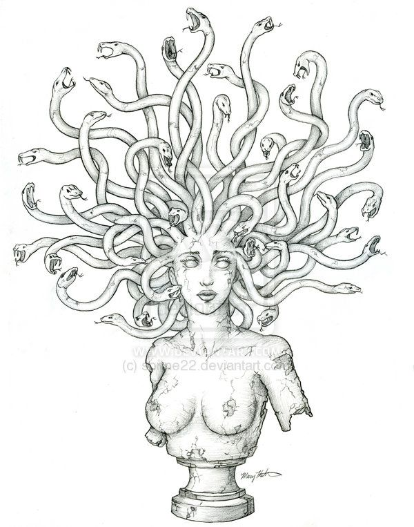 Medusa Tattoo by sonne22 on deviantART