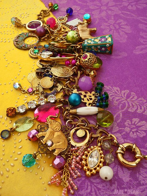 indian-chai:    Bollywood bracelet by ~janedean on deviantART on We Heart It. http://weheartit.com/entry/6236234