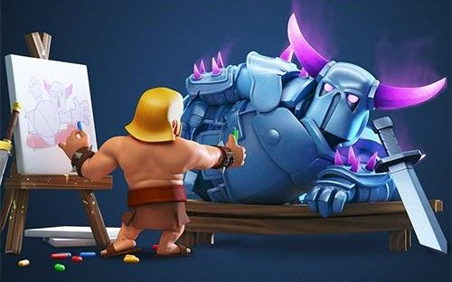 clash of clans art - Bing Images