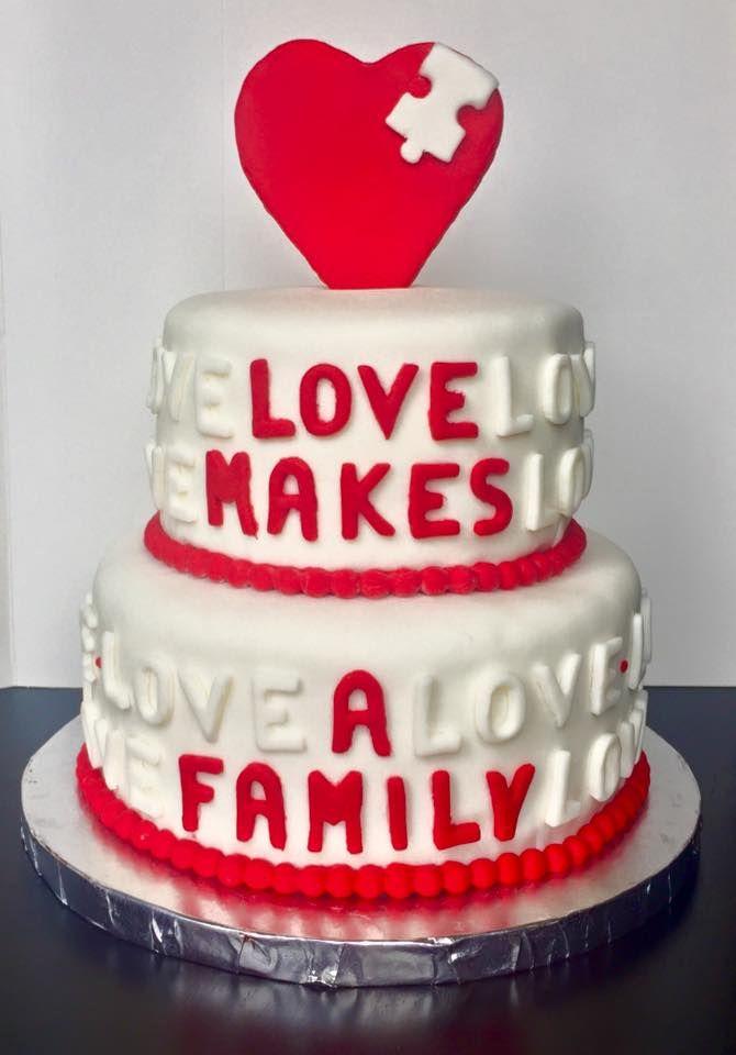 Adoption/Foster Cake  www.facebook.com/shellissweettreats