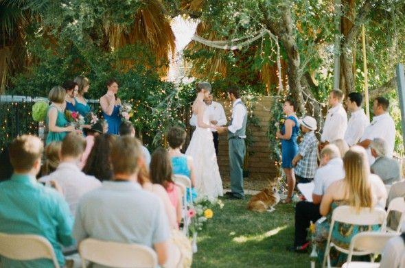 Intimate Rustic Backyard Wedding: 25+ Best Ideas About Small Backyard Weddings On Pinterest