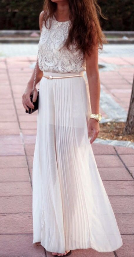 3d300fc984 Pleated. | It's All in the Details | Fashion, Style, Maxi skirt outfits
