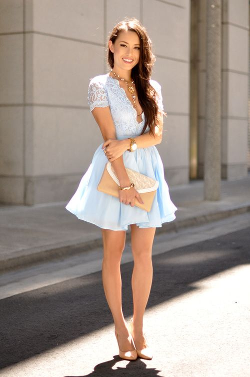 sweet heaven / blue touch || More Fashion at www.misskady.com ||