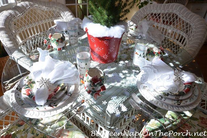 Зима Tablescape с Дэвидом Картера Брауна Рождество долине