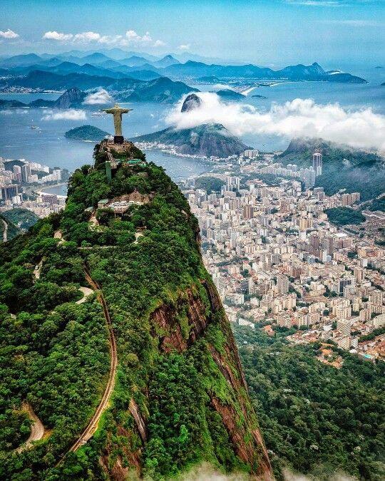 コルコバードの丘  ブラジル