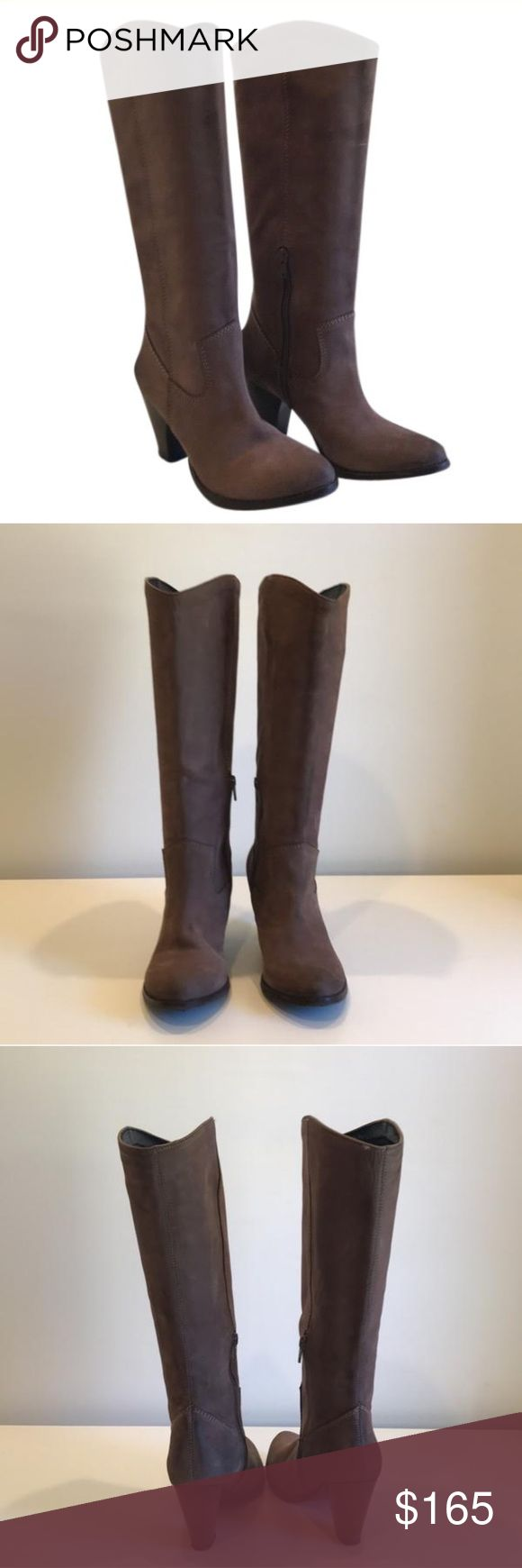 Bronx boots Bronx Brown boots. Great condition! Only worn once. Box not included. Paid $250 plus tax. Bronx Shoes Heeled Boots