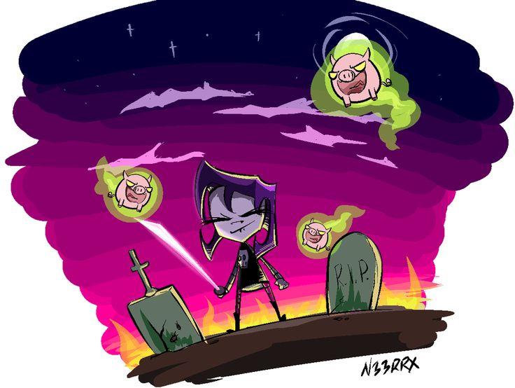 Vampire Piggy Invader ZimGravity