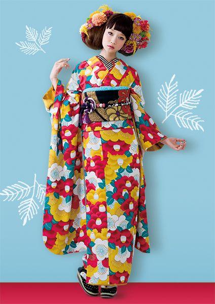 Retro Kimono Style