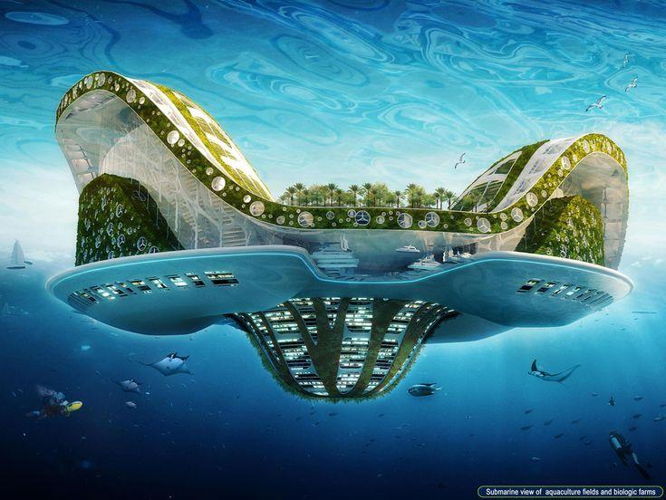 Les 24 meilleures images du tableau vincent callebaut for Architecture futuriste ecologique