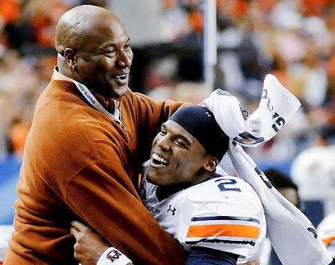Bo Jackson and Cam Newton...TALENT and Heisman Winners, I just love this so much