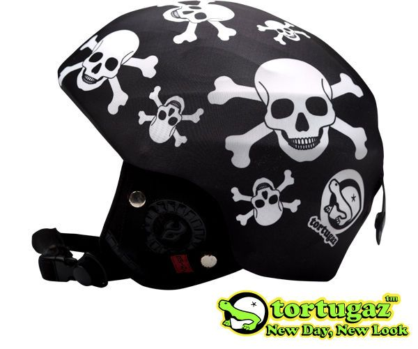 Tortugaz™ Universal Ski Snowboard Helmet Cover Skin Protector Skulls Style